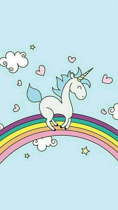unicorn licornes pinterest licornes cran et fond ecran kawaii. Black Bedroom Furniture Sets. Home Design Ideas
