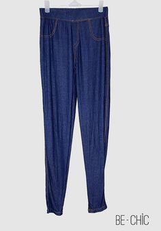 Leggings Jeans | couleur bleu | Prix : 100dh