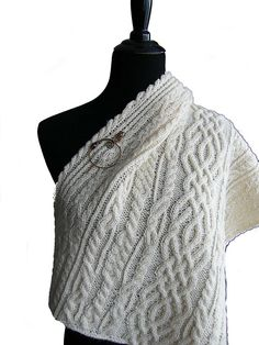 Ravelry: Lost Kingdom: Celtic Love Song Shawl pattern by Luise O'Neill