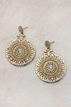 Crystal Boho Statement Earrings