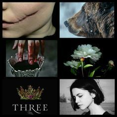 Arsinoe, The Naturalist. Three Dark Crowns