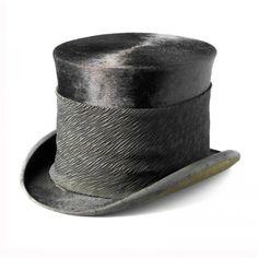 mode ABC - online modelexicon - Hoofddeksels - Hoge hoed met rouwband
