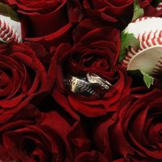 Baseball Wedding Flowers