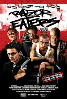 Razor Eaters 2003 Internet Movies, Top Movies, Feature Film, True Stories, Thriller, Books, Movie Posters, Libros, Film Poster