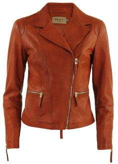 Cute biker jacket for hip women over 60 - hot coat and jacket trends for fall / winter 2014 - http://boomerinas.com/2013/11/06/trendy-coats-for-fall-winter-mature-woman-seeking-cute-comfortable-jacket-for-long-term-relationship/