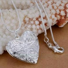 NEW! Beautiful Silver Heart Locket Pendant Beautiful Locket ❤  New in package *chain not included   ▪ No Trades  ▪ Fast Shipping IT Ragazza  Jewelry Necklaces