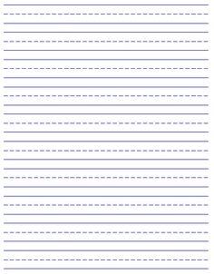 image relating to Printable Handwriting Paper named print handwriting paper -