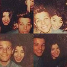 Eleanor Calder and Louis Tomlinson New Years Eve.