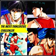 Shohoku's ace super rookie Kaede Rukawa proves himself as the most dangerous challenger against Ryonan's ace Akira Sendoh Slam Dunk Anime, Inoue Takehiko, Anime Rules, Slums, Basketball Players, Akira, Soundtrack, Sd, English
