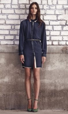 Eve Silk Shirtdress - Club Monaco Dresses - Club Monaco