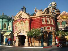 Toon Town @ Disneyland