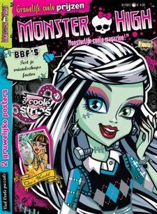 Ze zijn griezelig mooi, de meiden van Monster High. Clawdeen Wolf, Draculaura, Frankie Stein... aan de namen hoor je wel dat deze meiden geen gewone ouders hebben! Naast de populaire tv-serie en de poppen van Mattel is er nu ook een gruwelijk goed tijdschrift van Monster High. Neem nu een abonnement en blijf op de hoogte van de laatste griezeltrends!