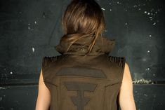 Cyberpunk Jacket and Post Apocalypse Dystopian Star Wars Cosplay Jedi Costume   Apocalyptic Clothing   Star Wars Armor Cyberpunk Jacket and Post Apocalypse Dystopian Star Wars Cosplay Jedi Costume   Apocalyptic Clothing   Star Wars Armor The Totem Vest Khaky is a high quality travel vest with a