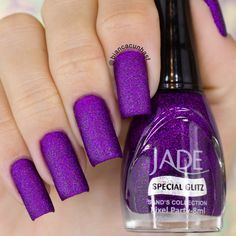 The Most Popular Nail Shapes – NaiLovely Purple Manicure, Manicure And Pedicure, Pink Nails, Gel Nails, Nail Polish, Purple Nail Designs, Acrylic Nail Designs, Crazy Nails, Super Nails