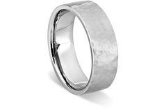 Men's Forged Wedding Ring ( 7MM) - in Platinum - Shadow?w=640&h=430&fit=fill&fm=jpg&q=65&bg=fff