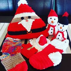 Hey, I found this really awesome Etsy listing at https://www.etsy.com/listing/565422157/christmas-crochetcrochet-santa-pillow