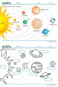 1 million+ Stunning Free Images to Use Anywhere Space Activities, Toddler Learning Activities, Science Activities, Science Projects, Kids Learning, Solar System Projects For Kids, Solar System Crafts, School Worksheets, Worksheets For Kids