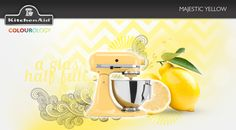 Majestic Yellow #KitchenAid #StandMixer