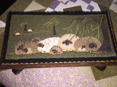 Wool applique pattern Ewe love Willows by SusanGonzalesDesigns