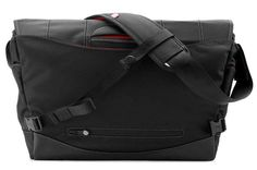 Boa nerve L, black-red | MacBook Pro Messenger Bags by booq