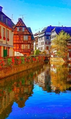 Strasbourg, France in the Alsace Region