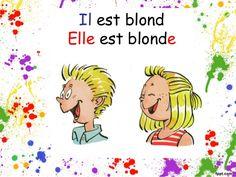 Il est blond Elle est blonde