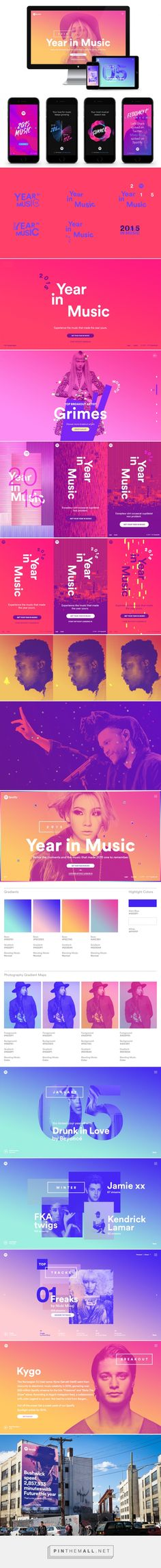 Stinkdigital - Spotify - Year in Music 2015