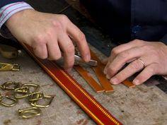 Truco para coser bien el cuero