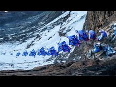 Breathtaking POV Wingsuit Flight from Mt. Kilimanjaro - YouTube