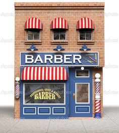 fachada barbearia - Pesquisa Google