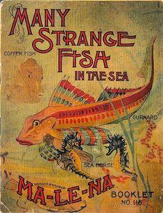 Many Strange Fish in the Sea vintage book