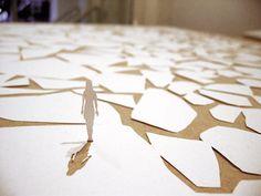 Nature´s Maze paper art by Peter Callesen Peter Callesen, Paper Cutting, Art Alevel, Arts And Crafts, Paper Crafts, A4 Paper, Paper Artist, Paper Design