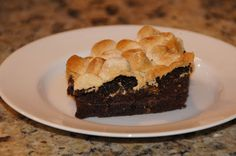 Little Bit of Everything: Box Oven S'mores Brownies - Secret Recipe Club