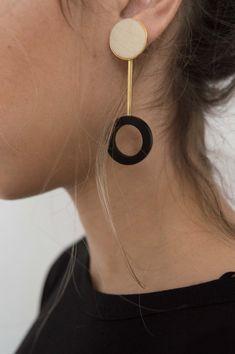 Dora Ohrringe Dora Earrings Dora Ohrringe - List of the best jewelry Bijoux Design, Schmuck Design, Jewelry Design, Clay Earrings, Polymer Clay Jewelry, Boho Earrings, Cute Jewelry, Jewelry Accessories, Decorative Accessories
