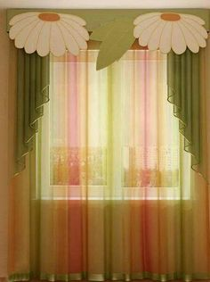 The sheer curtain color effect...