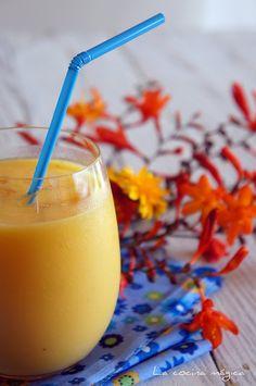 Smoothie de verano (batido de naranja y mango)