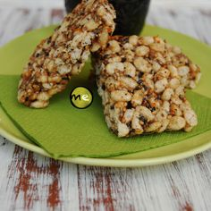 Macroesfera: Barrinhas de arroz tufado, sementes e laranja Picnic Snacks, Breakfast Snacks, Avocado Toast, Cereal, Vegetables, Food, Seeds, Orange, Recipes