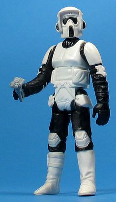 Imperial scout trooper | Rebelscum.com; Star Wars Toy News Archive