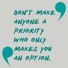 Don't make anyone...