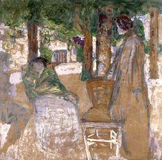 In the Shade / Edouard Vuillard - circa 1907