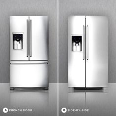 Are you a fan of the French Door or Side by Side refrigerator?