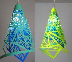 Papier Lamp á la Tord Boontje Tord Boontje, Neon Crafts, Diy Crafts, Paper Cutting, Cut Paper, Diy Luz, Diy Luminaire, Paper Art, Paper Crafts