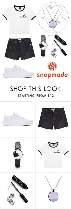 """Untitled #454"" by angela229 ❤ liked on Polyvore featuring Vans, Frame and Bobbi Brown Cosmetics"