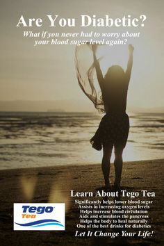 Tego Tea for Type 2 Diabetes Blood Sugar Levels, Lower Blood Sugar, Diabetic Drinks, Natural Cures, Fun Drinks, No Worries, Diabetes, Health Tips, The Cure