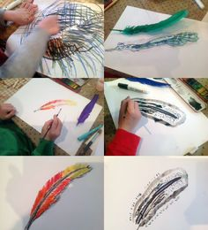 Drawing Feathers, Holburne Museum