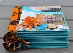 Mini album scrap enveloppes DT La Malle aux Fleurs (8)