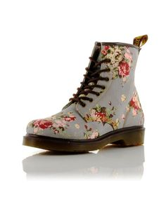 dr. martens floral print #drmartens #boots #floral