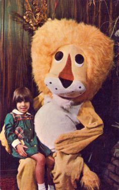L'enfant et Lion