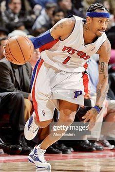 #AllenIverson #DetroitPistons #NBA Nba Lebron James, Warriors Stephen Curry, Detroit Sports, Allen Iverson, Indiana Pacers, Larry Bird, Detroit Pistons, Dallas Mavericks, Oklahoma City Thunder