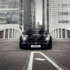 Ferrari FF taking on the city. Click for more pics like this....
